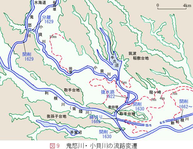 小貝川の治水と洪水の歴史|龍ケ...